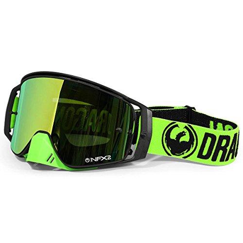 Dragon 298616030532Maske Radsport Unisex Erwachsene, schwarz/grün