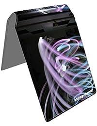 Stray Decor (Neon Burn) Étui à Cartes / Porte-Cartes pour Titres de Transport, Passe d'autobus, Cartes de Crédit, Navigo Pass, Passe Navigo et Moneo