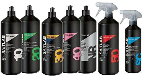High Performance Liquid Poliervlies und Reinigungsmittel., PASL1000GX, 1