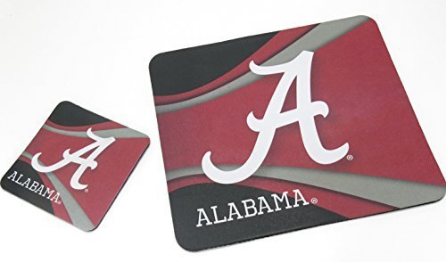 alabama-university-collage-tessuto-mouse-pad-sottobicchiere-e-marching-computer-electronics-accessor