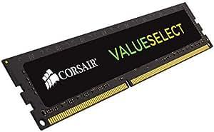 Corsair CMV2GX3M1C1600C11 Value Select 2GB (1x2GB) DDR3L Low Voltage 1600Mhz C11 Mémoire pour ordinateur de bureau  Noir