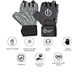 #7: Fitup Life Gym Gloves with Adjustable Wrist Grip & Web Leather Padding (Imported)