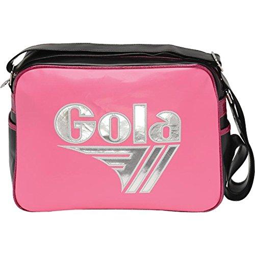 Gola - Redford Mirror Metallic, Portafogli Bambina Fuchsia/Silver/Black