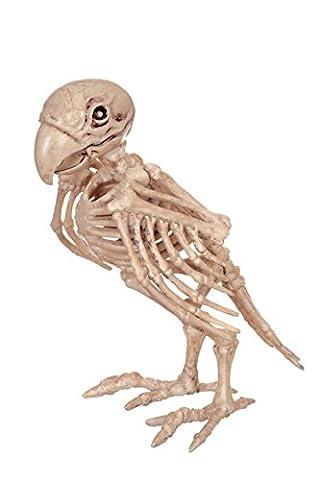 Crazy Bonez Skeleton Parrot