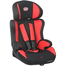 Play Safe Ten Fix - Silla de coche, grupos 1-2-3, color rojo