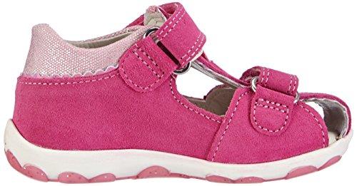 Superfit  FANNI, Chaussures premiers pas pour bébé (fille) Rose - Pink (PINK KOMBI 64)
