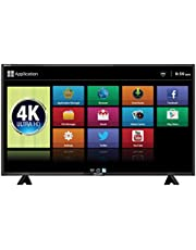 Mitashi 125.73 cm (50 inches) MiDE050v25 4KS 4K LED Smart TV (Black)