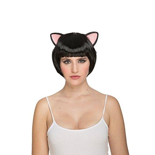 viving Kostüme viving costumes204635Kurzes Haar Kitty Perücke (One Size) -