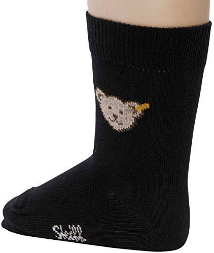 Steiff Baby Jungen Socken mit Bär 24059 (98/104, Nachtblau) (Socke Teddy-bär Mit)