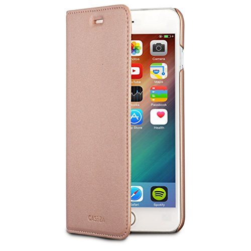CASEZA iPhone 6 Plus / 6s Plus Kunstleder Flip Case