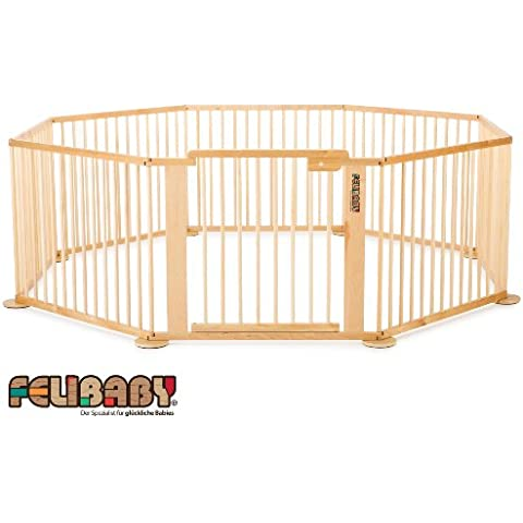 ONE4all 1+7 Cancelletto di sicurezza flessibile, box per bambini - Sistema 1 Box