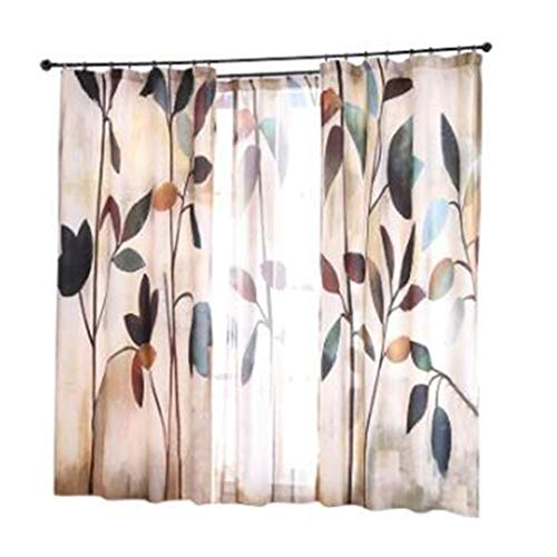 TD X35414 Vorhang, Ländlichen Stil Kleine Frische Wilde Schattierung Einfache Moderne Wohnzimmer Schlafzimmer (größe : 2*W 1.4M ×L 2.4M)