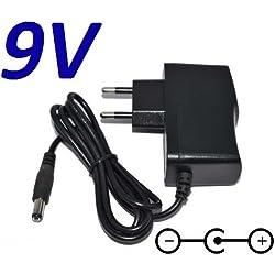 Adaptateur Secteur Alimentation Chargeur 9V pour Remplacement Vélo Techness SE 800 MP3 puissance du câble d'alimentation