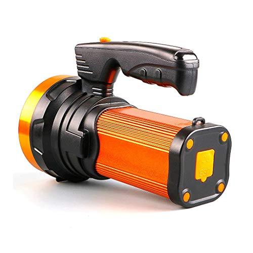 ZXM Searchlight, torcia elettrica luminosa eccellente principale portatile ricaricabile a distanza della torcia elettrica luminosa eccellente di luminosità