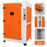 Powder Coating Oven Industrial Curing Oven Paint Cure Drying Chamber 7.2KW Powdercoating System Commercial Heavy-Duty MonsterShop