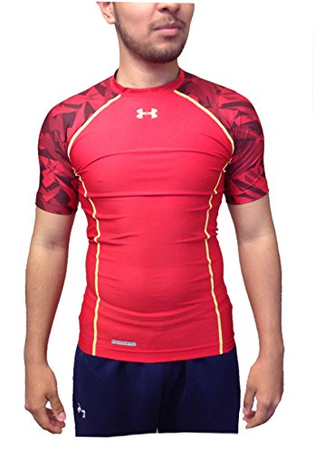 Herren Heatgear Compression Training Shirt 1250427 Rot gro? (Training Heatgear)