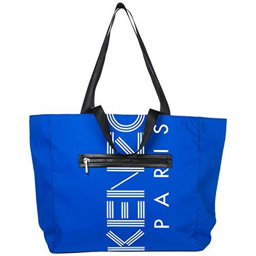 Kenzo sac à l épaule femme en Nylon blu 537407ed2b3