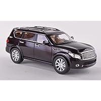 infiniti QX56, met.-scuro-marone , modello di automobile, modello prefabbricato, GLM 1:43 Modello esclusivamente da (Infiniti Qx56)