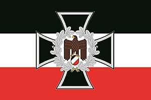 u24 aufkleber eisernes kreuz mit adler deutschland flagge. Black Bedroom Furniture Sets. Home Design Ideas