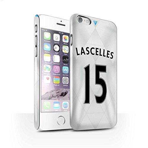 Offiziell Newcastle United FC Hülle / Glanz Snap-On Case für Apple iPhone 6S / Pack 29pcs Muster / NUFC Trikot Away 15/16 Kollektion Lascelles