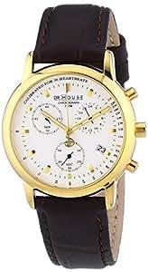 Kronsegler DR.HOUSE Damen Chronograph vergoldet-silbern