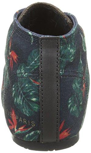Eleven Paris Bastee, Chaussures de ville femme Multicolore (Tropical Crayon)
