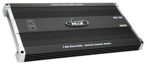 Lanzar MXA284 Amplificateur MOSFET à 2 canaux Pontable 5000 W Noir