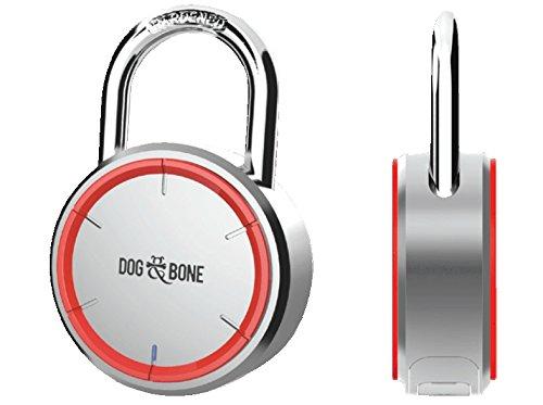 DOG & BONE DAB-LS001 LockSmart Bluetooth Schloss für Apple iOS/Android silber