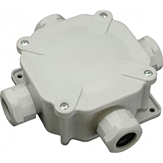 Electrical Junction box IP67 Up to Four Inlets for External or Internal use