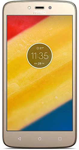 Moto C Plus (Fine Gold, 16 GB) (2 GB RAM)