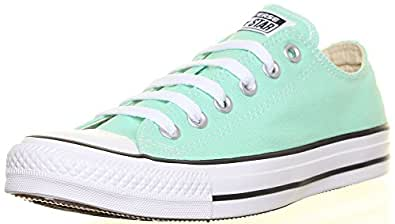 Converse 142377 Womens Canvas Trainers (7 UK, Green L21)