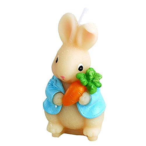 ZHUANGJI Geburtstagsfeier liefert Geburtstagskerzen rauchlose Großhandel Karottenkaninchen Zodiac