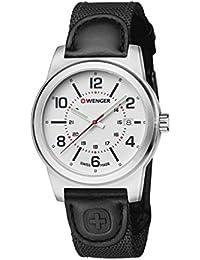 WENGER Herren-Armbanduhr Analog Quarz Leder 01.0441.162
