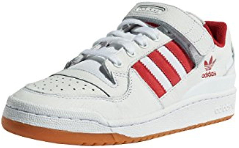 adidas Originals Herren Schuhe/Sneaker Forum Lo Weiß 42
