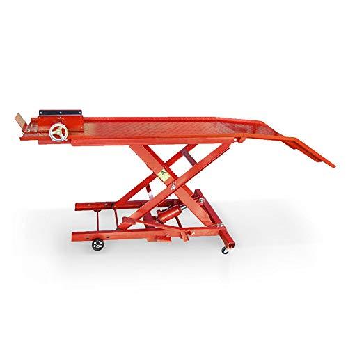 Holzinger Motorradhebebühne - HMH360, 360kg, 220-780mm