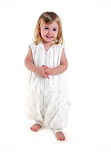 Sacco nanna con piedini leggero slumbersac per bambino circa 0.5 tog - orsetto - 3-4 anni