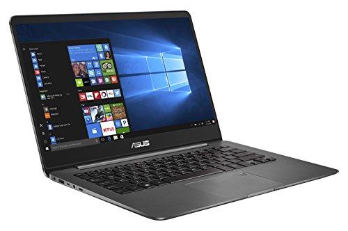 """Asus ZenBook UX430UQ-GV018T Notebook, Display da 14"""" Full HD, Processore Intel Core i7-7500U, 2.7 GHz, RAM da 8 GB, SSD da 512 GB, nVidia GTX 940MX, 2 GB, Grigio"""