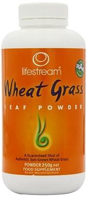 Lifestream Organic Wheat Grass Powder 250g from Lifestream