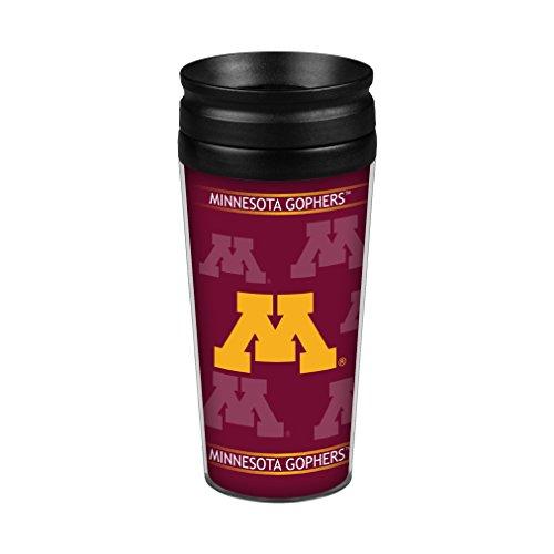 NCAA Minnesota Golden Gophers (Fernsehserie Full Wrap Reise Tumbler, 14-ounce, rot (Minnesota Golden Gophers Auto)