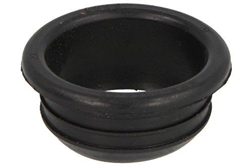 HAAS Gummi-Nippel für PE-HD-Rohre | DN 50/DN 40 | Gummi schwarz | 1 Stück (Gummi-rohr)