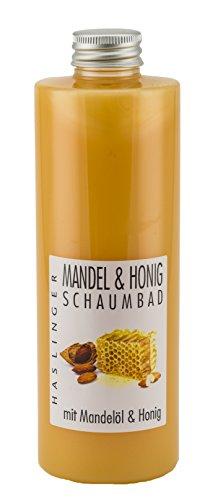 Mandel - Honig Schaumbad mit echtem Honig und Mandelöl, Badezusatz