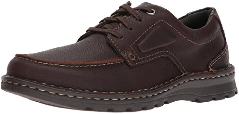 Clarks Men's Vanek Apron Loafer  Brown Oily Leather  13 Medium US