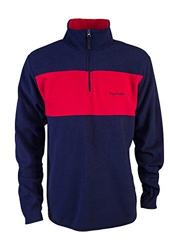 pierre-cardin-mens-new-season-zip-micro-fleece-jumper-with-contrast-colour-panel-medium-navy