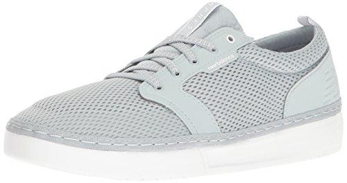 New Balance , Herren Fußballschuhe Grey with White & Light Grey