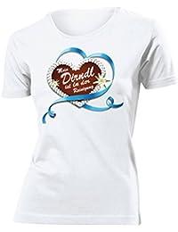 OKTOBERFEST - LEBKUCHENHERZ MEIN DIRNDL IS IN DER REINIGUNG T-Shirt Damen S-XXL