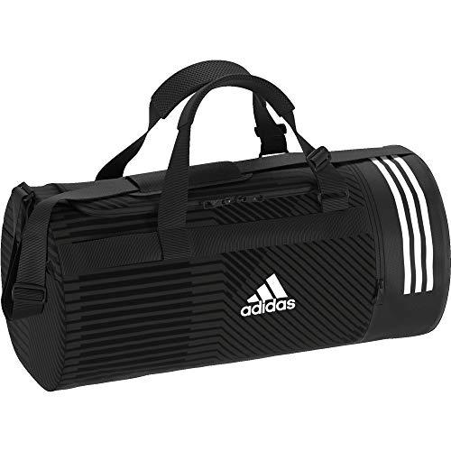 adidas 3S CVRT DUF G M Gym Bag, Unisex Adulto, Black/Grey Six/White, NS
