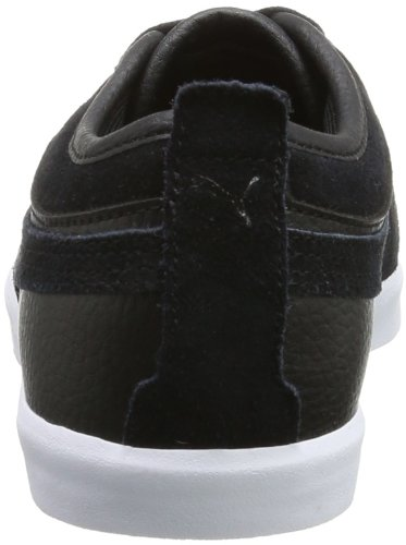Puma Elsu Bluchertoe L 356232 Unisex-Erwachsene Sneaker Schwarz (Black 01)