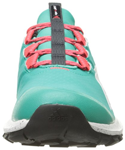 Adidas Performance Vigor 6 Tr W Lauf, Hell Cyan / Solar-Gelb / gefroren Blau, 5 M Us Shock Mint/White/Shock Red