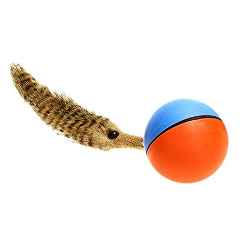 SGerste Hund Katze Weasel motorisiert Funny Rolling Ball Pet erscheinen Jump beweglichen Alive Spielzeug