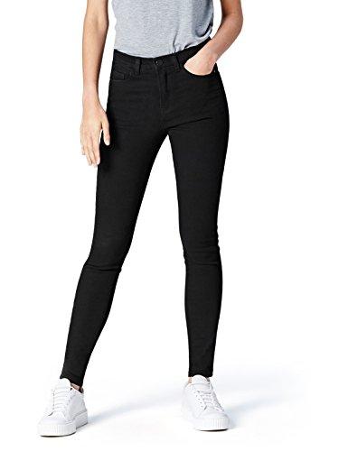 Find. dc3374s jeans skinny donna, nero (true black), w28/l32 (taglia produttore: small)